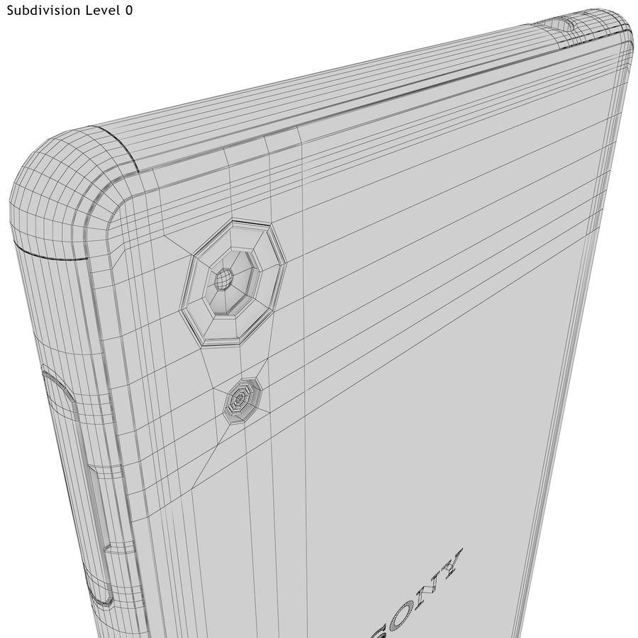 Sony Xperia M4 Aqua Black royalty-free 3d model - Preview no. 22