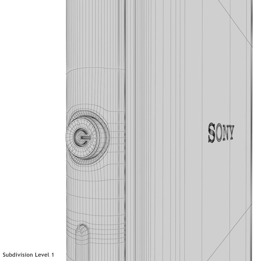 Sony Xperia M4 Aqua Black royalty-free 3d model - Preview no. 29