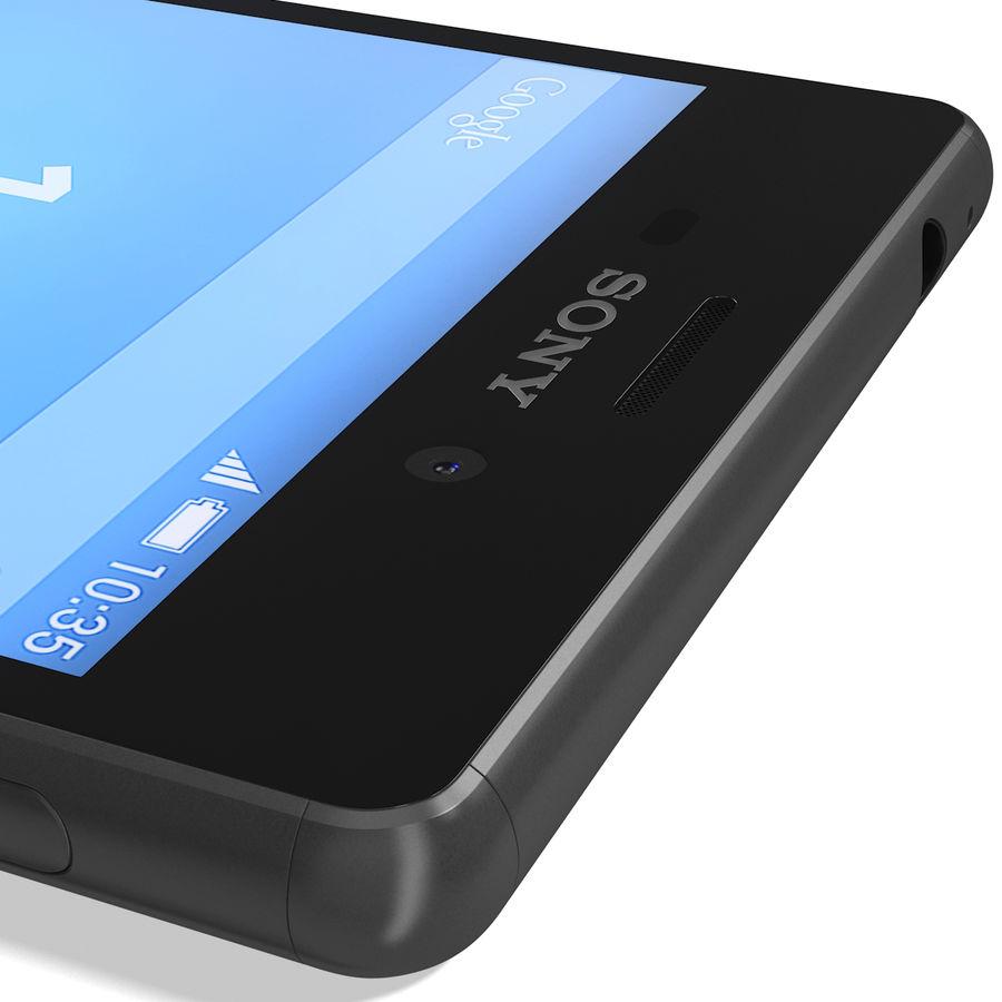 Sony Xperia M4 Aqua Black royalty-free 3d model - Preview no. 17
