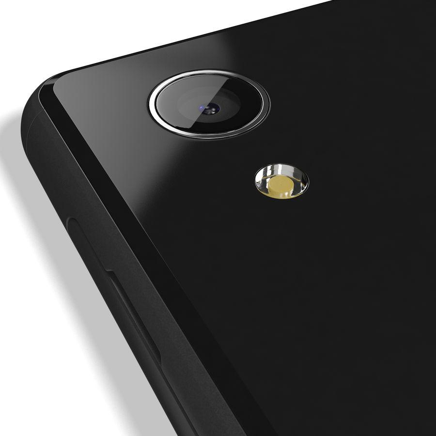 Sony Xperia M4 Aqua Black royalty-free 3d model - Preview no. 14