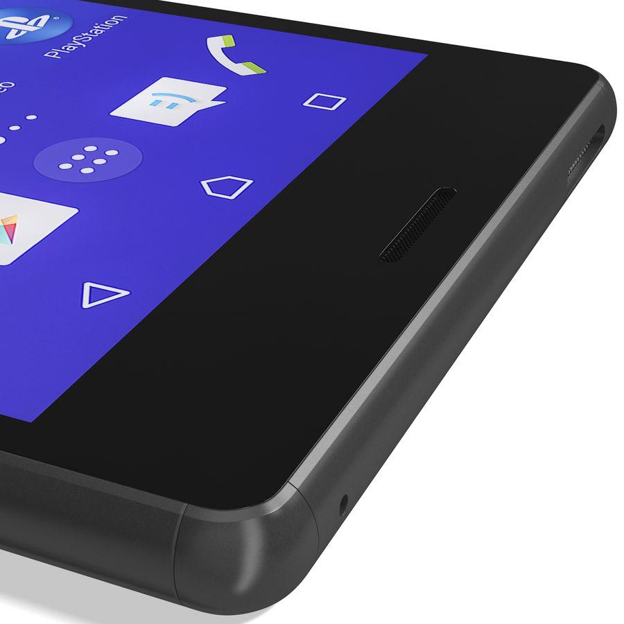 Sony Xperia M4 Aqua Black royalty-free 3d model - Preview no. 16
