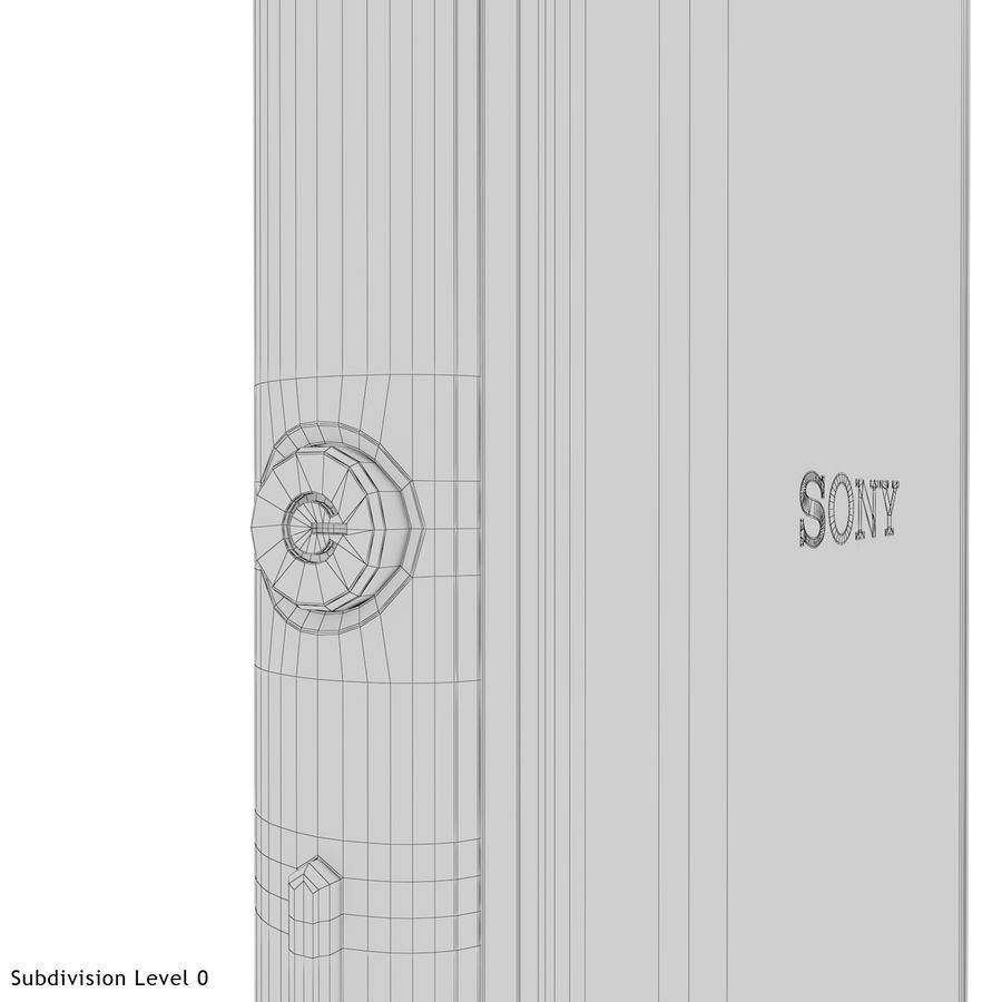 Sony Xperia M4 Aqua Black royalty-free 3d model - Preview no. 28