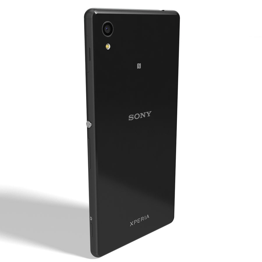 Sony Xperia M4 Aqua Black royalty-free 3d model - Preview no. 4