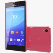 Sony Xperia M4 Aqua Pink 3d model