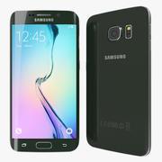 Samsung Galaxy S6 Edge Green 3d model