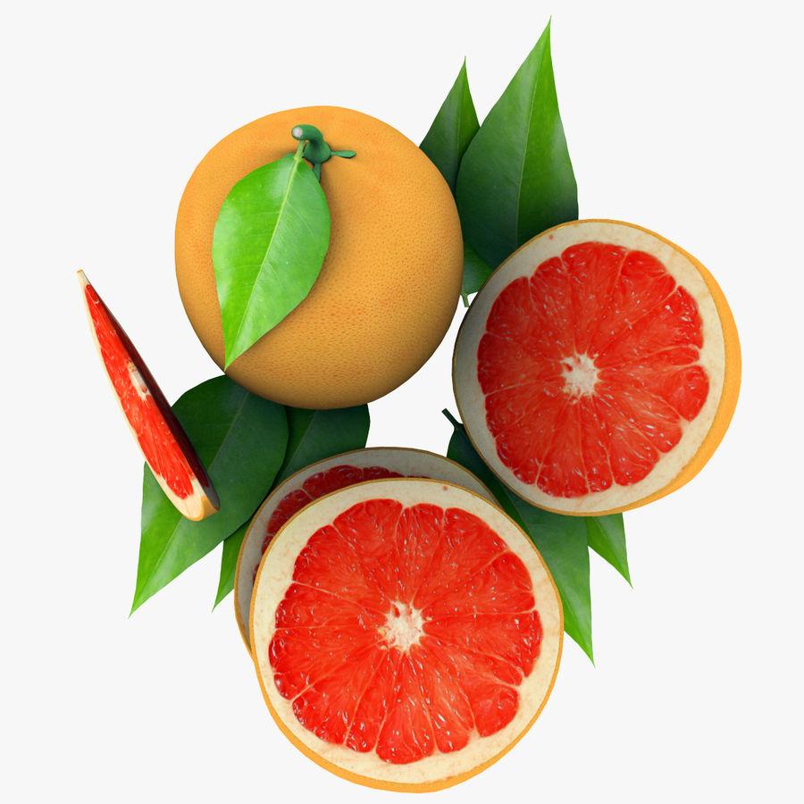 Grapefruit Mix royalty-free 3d model - Preview no. 6