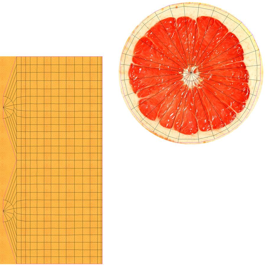 Grapefruit Mix royalty-free 3d model - Preview no. 20