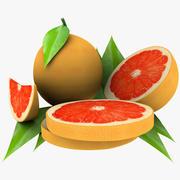 葡萄柚混合 3d model