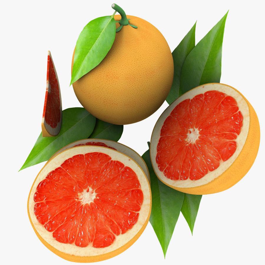 Grapefruit Mix royalty-free 3d model - Preview no. 9