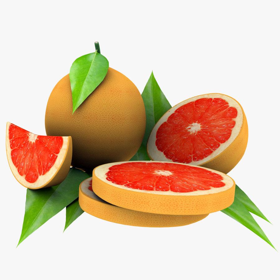 Grapefruit Mix royalty-free 3d model - Preview no. 3