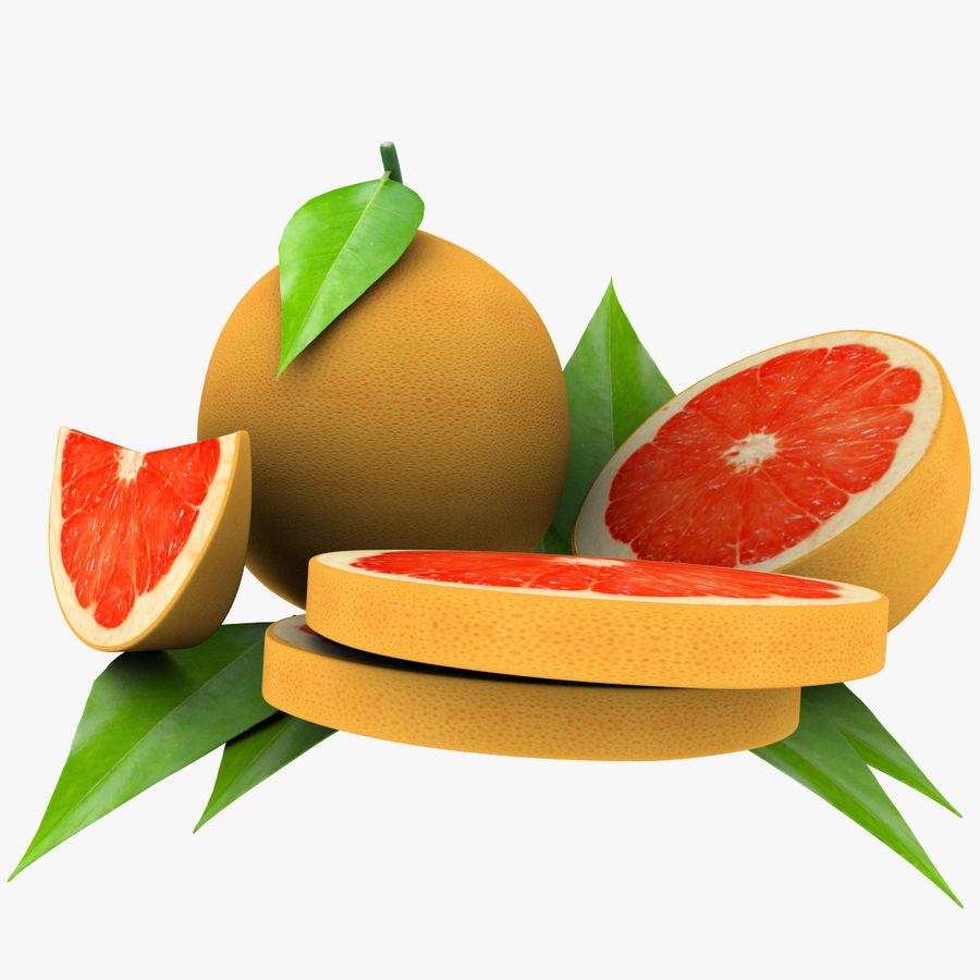Grapefruit Mix royalty-free 3d model - Preview no. 7