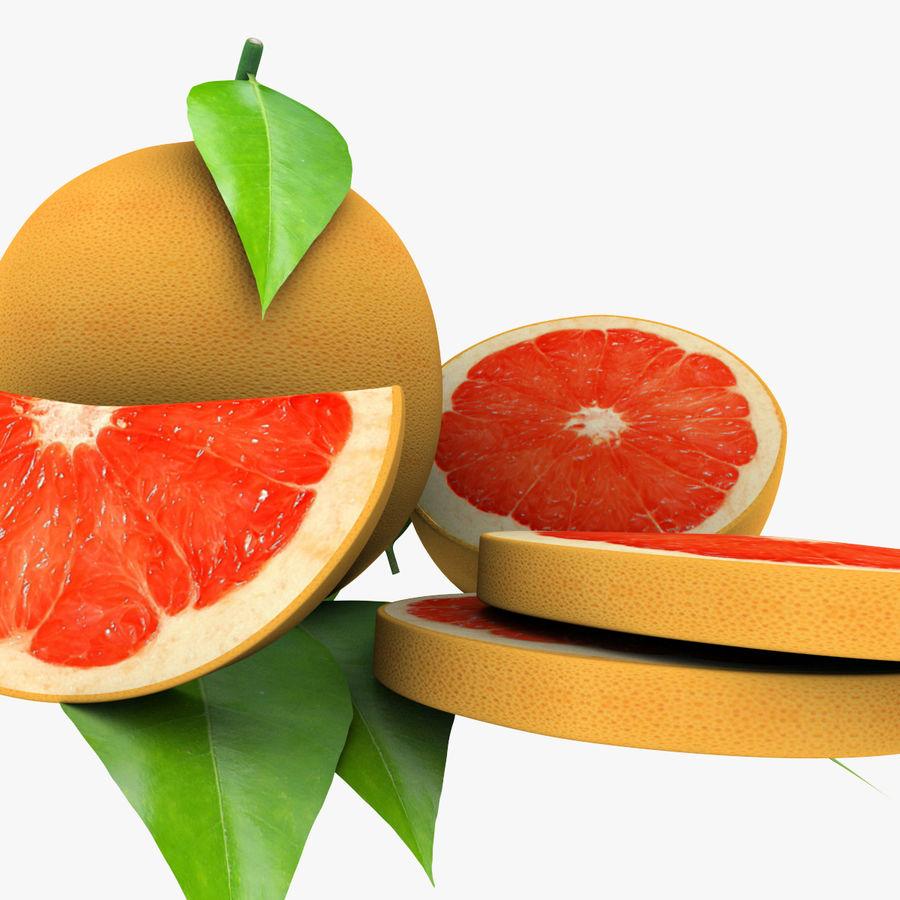 Grapefruit Mix royalty-free 3d model - Preview no. 5