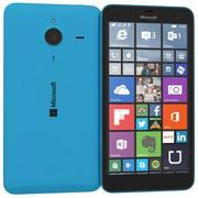 Microsoft Lumia 640 XL Dual SIM Matte Cyan 3d model