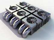 HVAC soğutucu 3d model