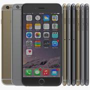 iPhone 6 3D Models Set 2 3d model