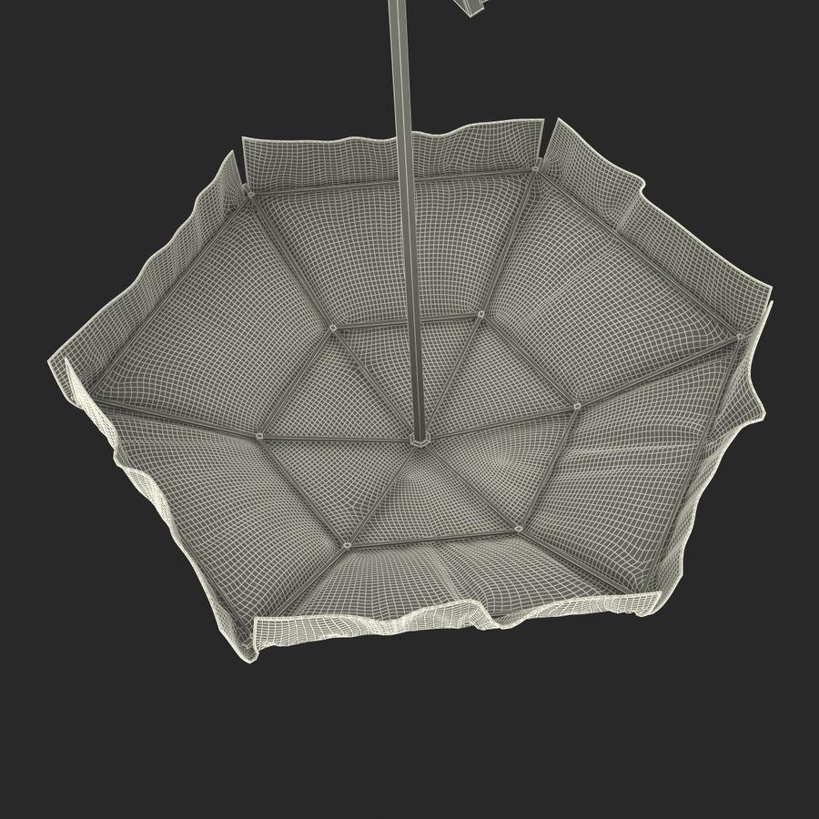 Silla salvavidas con sombrilla royalty-free modelo 3d - Preview no. 33