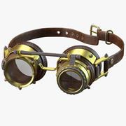 Steampunk Goggles 3d model