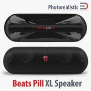 Pill XL Speaker를 친다 3d model