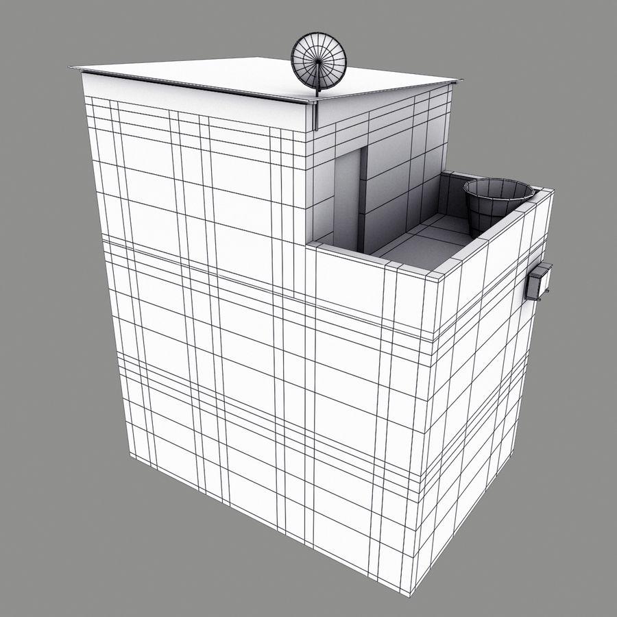 家 royalty-free 3d model - Preview no. 13