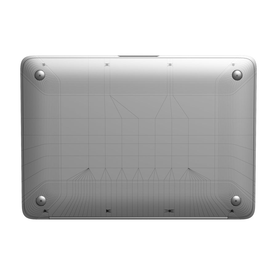 Apple MacBook 2015 royalty-free 3d model - Preview no. 32