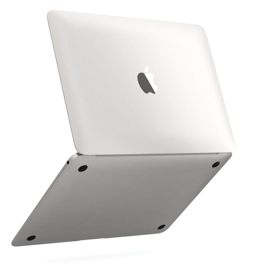 Apple MacBook 2015 royalty-free 3d model - Preview no. 17