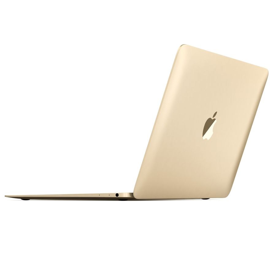 Apple MacBook 2015 royalty-free 3d model - Preview no. 15