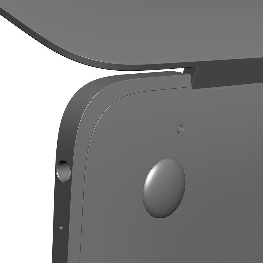 苹果MacBook 2015 royalty-free 3d model - Preview no. 34