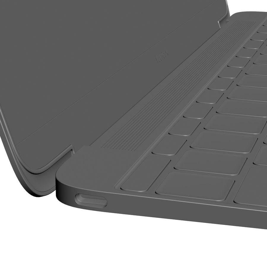 Apple MacBook 2015 royalty-free 3d model - Preview no. 33