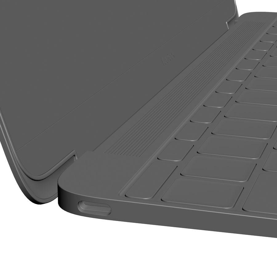 苹果MacBook 2015 royalty-free 3d model - Preview no. 33
