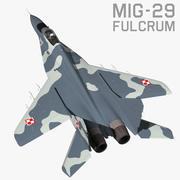 MIG 29 Fulcrum 3d model