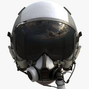 USAF 비행 헬멧 3d model