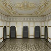 palace room 3 mental ray 3d model