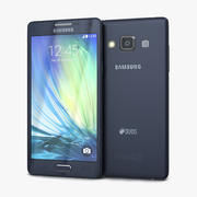 Samsung Galaxy A5 e A5 Duos Preto 3d model