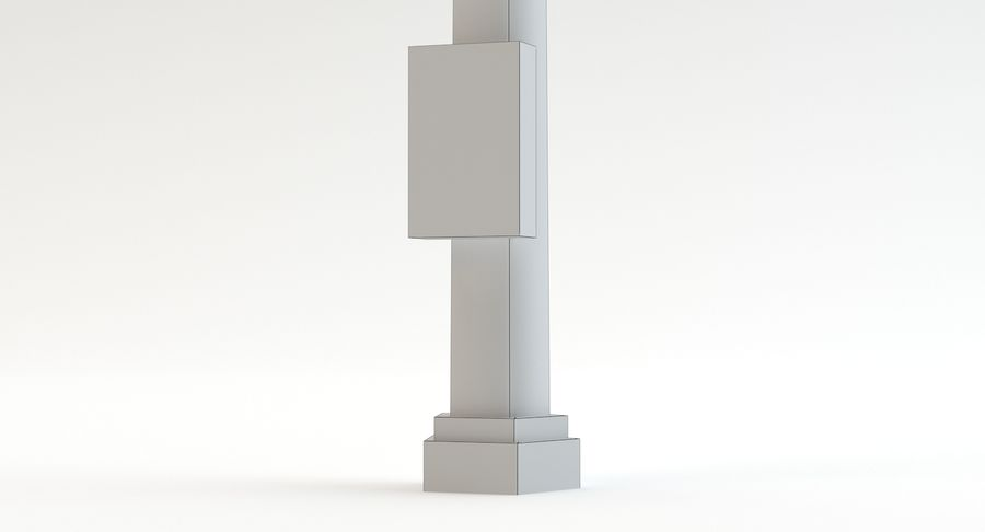Floodlight royalty-free 3d model - Preview no. 14