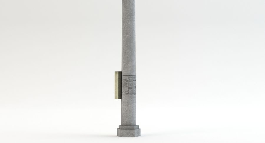 Floodlight royalty-free 3d model - Preview no. 7