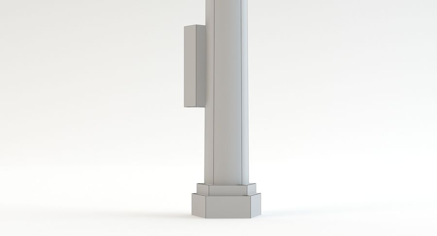 Floodlight royalty-free 3d model - Preview no. 15