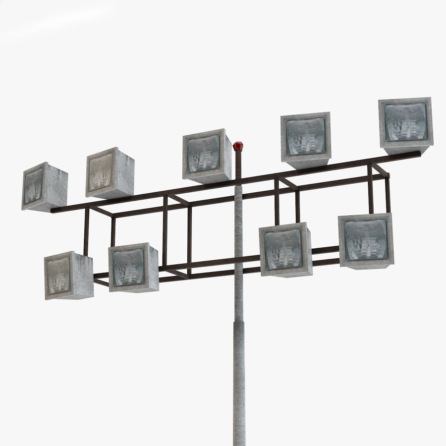 Floodlight royalty-free 3d model - Preview no. 1
