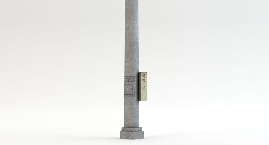 Floodlight royalty-free 3d model - Preview no. 9