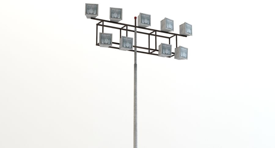 Floodlight royalty-free 3d model - Preview no. 5