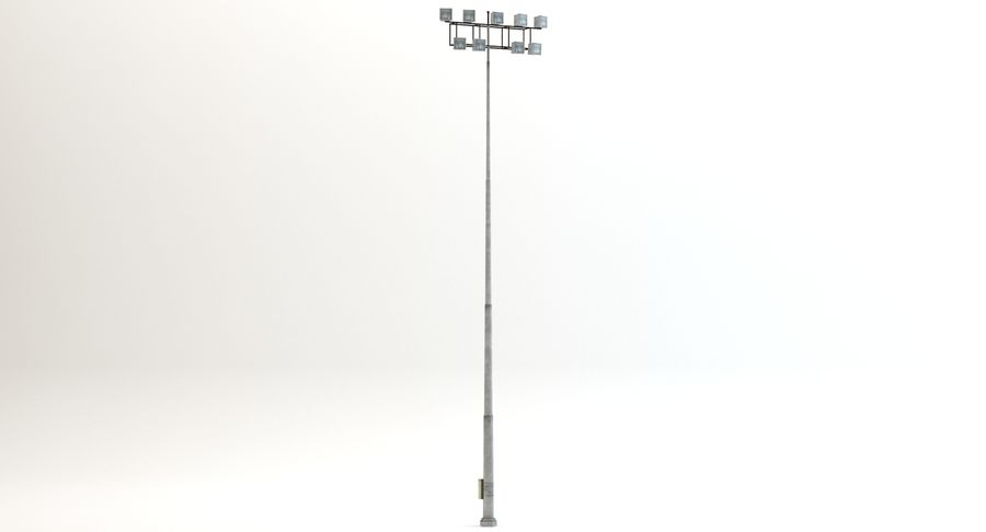 Floodlight royalty-free 3d model - Preview no. 6