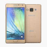Samsung Galaxy A7 Champagne Gold 3d model
