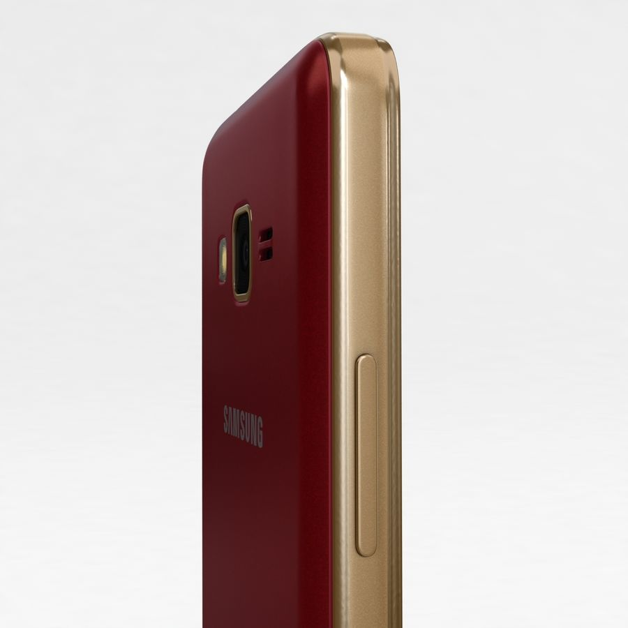 Samsung Z1 Wine Red royalty-free 3d model - Preview no. 17