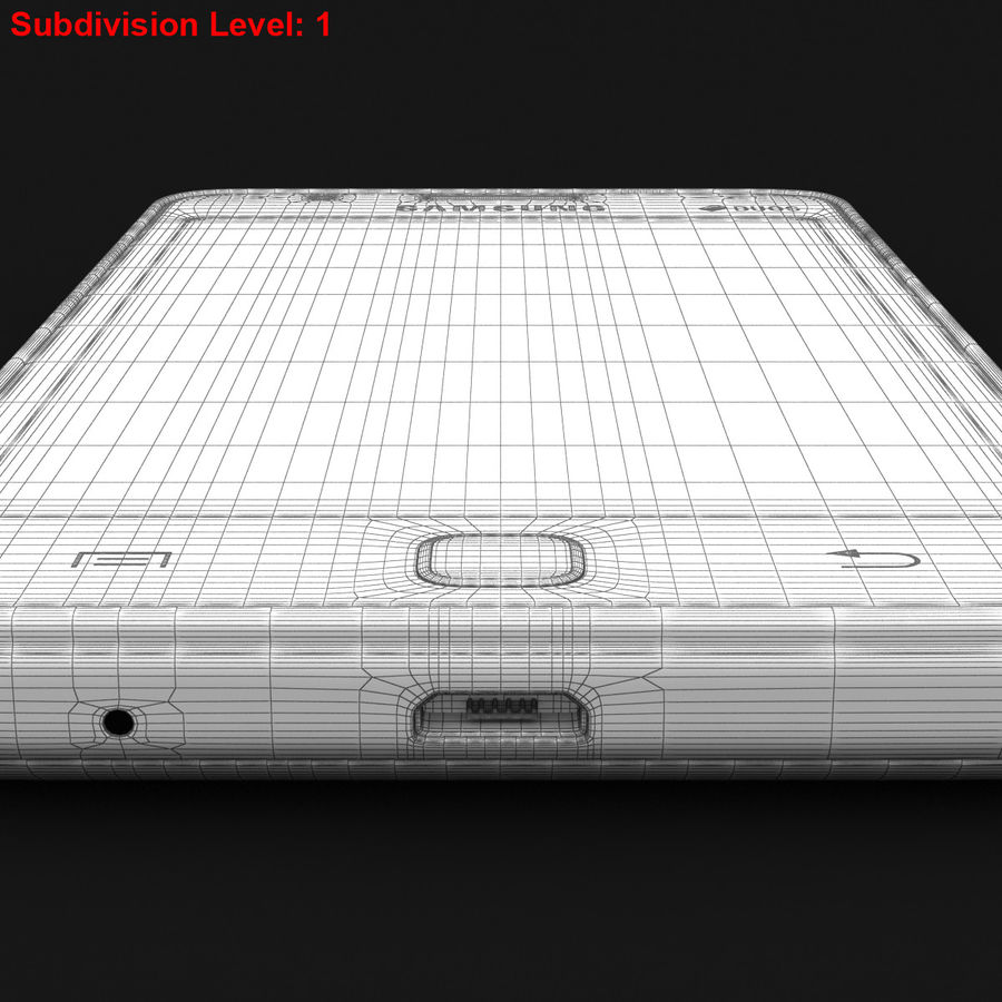 Samsung Z1 Wine Red royalty-free 3d model - Preview no. 28