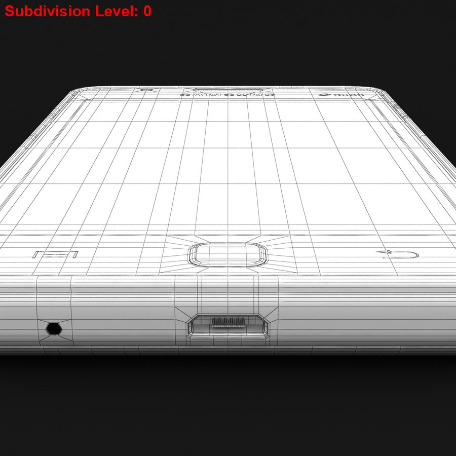Samsung Z1 Wine Red royalty-free 3d model - Preview no. 29