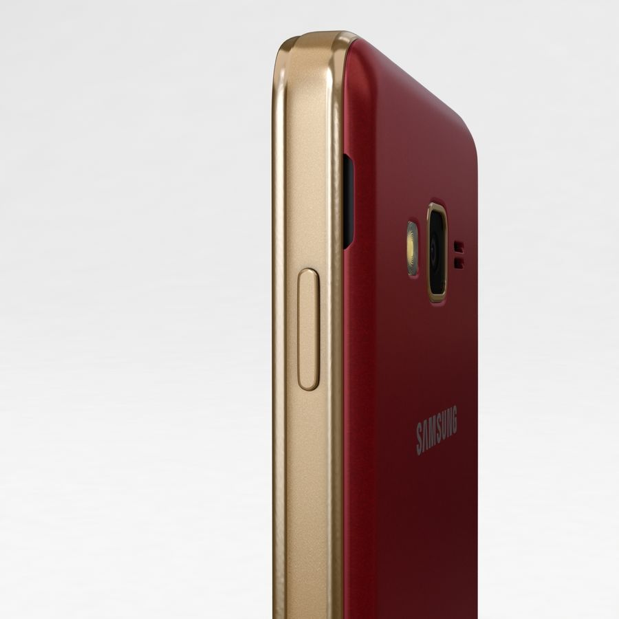 Samsung Z1 Wine Red royalty-free 3d model - Preview no. 16