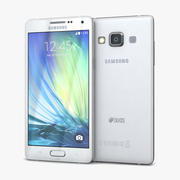Samsung Galaxy A5 and A5 Duos White 3d model