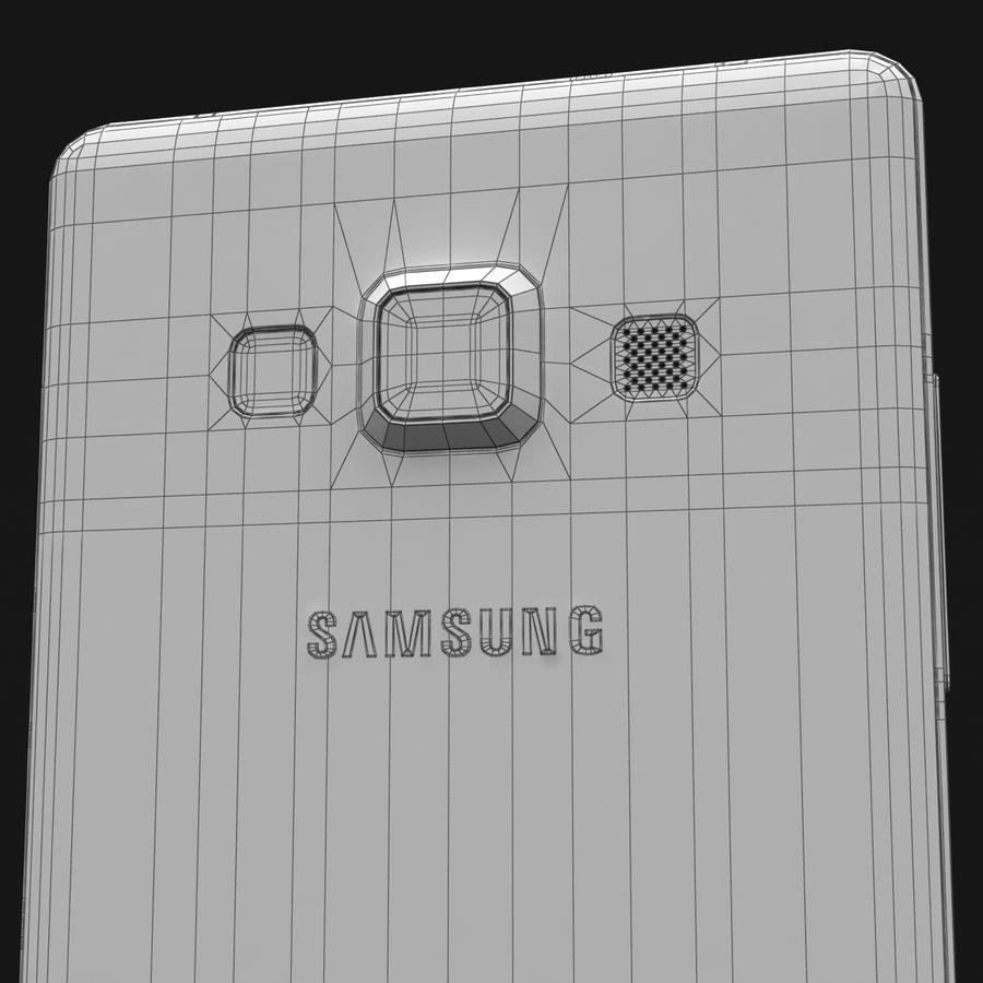Samsung Galaxy A5 och A5 Duos Silver royalty-free 3d model - Preview no. 38