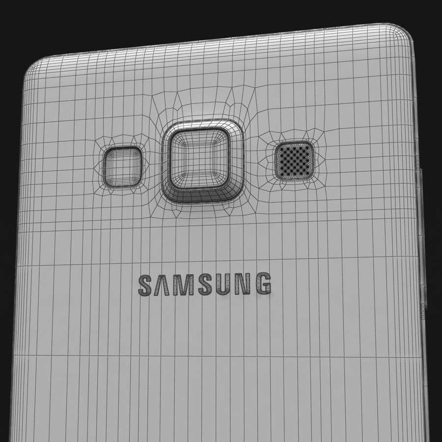 Samsung Galaxy A5 och A5 Duos Silver royalty-free 3d model - Preview no. 37
