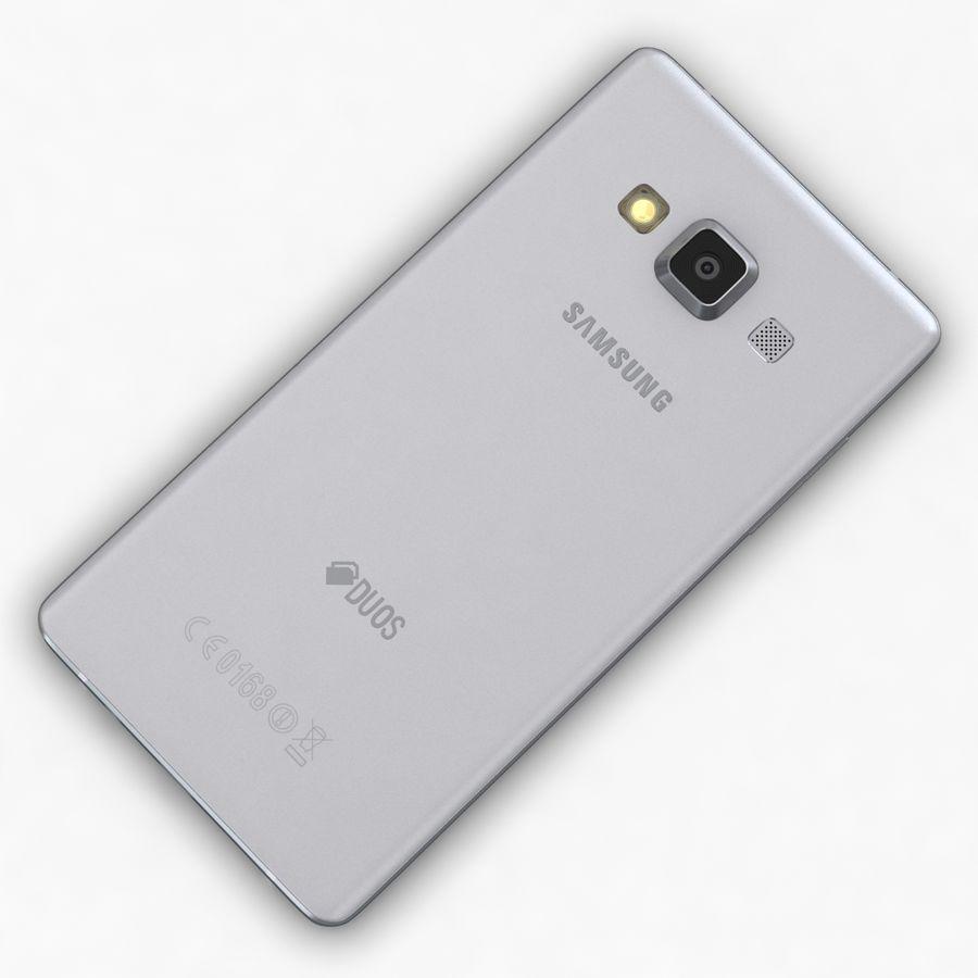 Samsung Galaxy A5 och A5 Duos Silver royalty-free 3d model - Preview no. 13