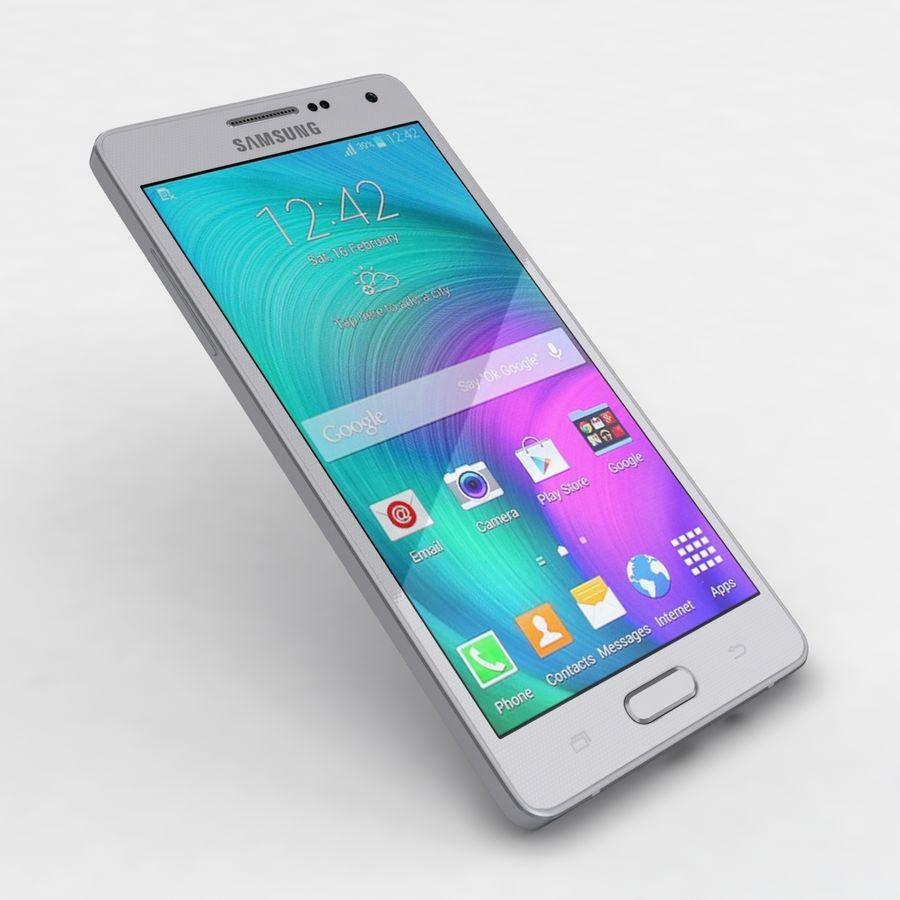Samsung Galaxy A5 och A5 Duos Silver royalty-free 3d model - Preview no. 20